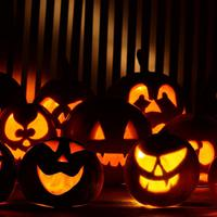 Halloween stencilek. Ajándék.