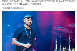 A Hurts mellett Sean Paul is fellép az EFOTT-on