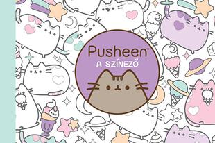 Pusheen - cuki és pihentető színező karácsonyra!