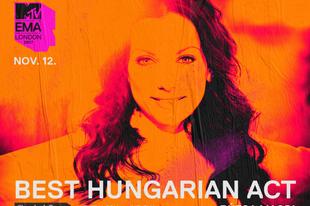 Rúzsa Magdi lett az MTV EMA legjobb magyar előadója