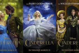 Hamupipőke - Cinderella [2015]