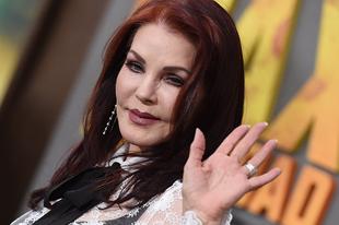 Priscilla Presley támogatja a budapesti Elvis szobrot