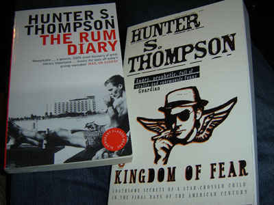 Hunter S. Thompson könyvek