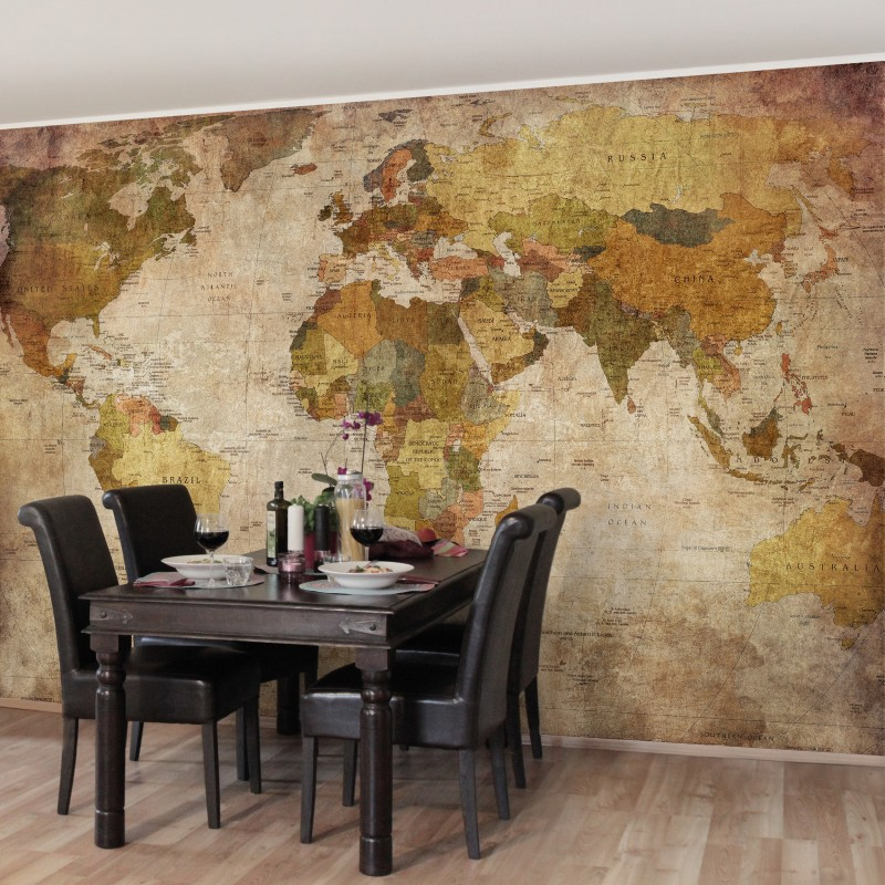 Akik nagyban szereti böngészni a térképet - worldmap poszter tapéta