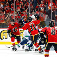 Csodás meccseken jutott tovább a Calgary és a Chicago