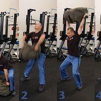 44. Edzés sporttáskával (Sandbag)