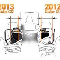 Plasztikai sebészet a Forma-1-ben - a 2013-as autókról
