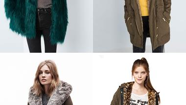Téli trendek - Kabátok