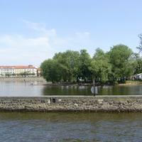 Több sziget is található a folyón