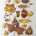 Gyerekek készítették ezeket a mesés őszi díszeket