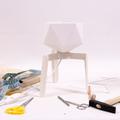 Csináld magad: geometrikus lámpabura papírból
