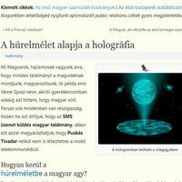 Első magyarok - Magyar elsők