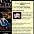 Online póker, online kaszinó