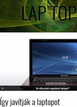 Top weblap: laptop javítás