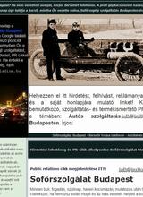Autós szolgáltatások Budapesten