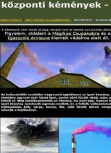 Központi, ipari kémény, gyűjtőkémény
