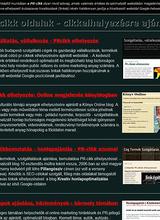 PR-cikk oldalak - Online elhelyezés
