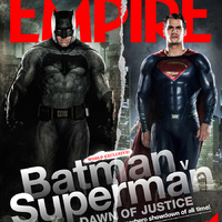 Batman Superman ellen - Az igazság hajnala (Batman v Superman: Dawn of Justice) Empire cover