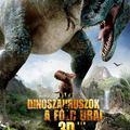 Dinoszauruszok - A Föld urai 3D-ben magyar poszter