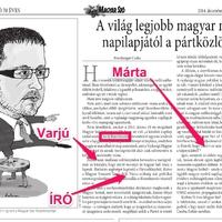 Hogyan hamisította meg a cikkemet a Magyar Szó
