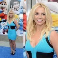 Britney gyermekeivel vett részt a Hupikék Törpikék 2 bemutatóján
