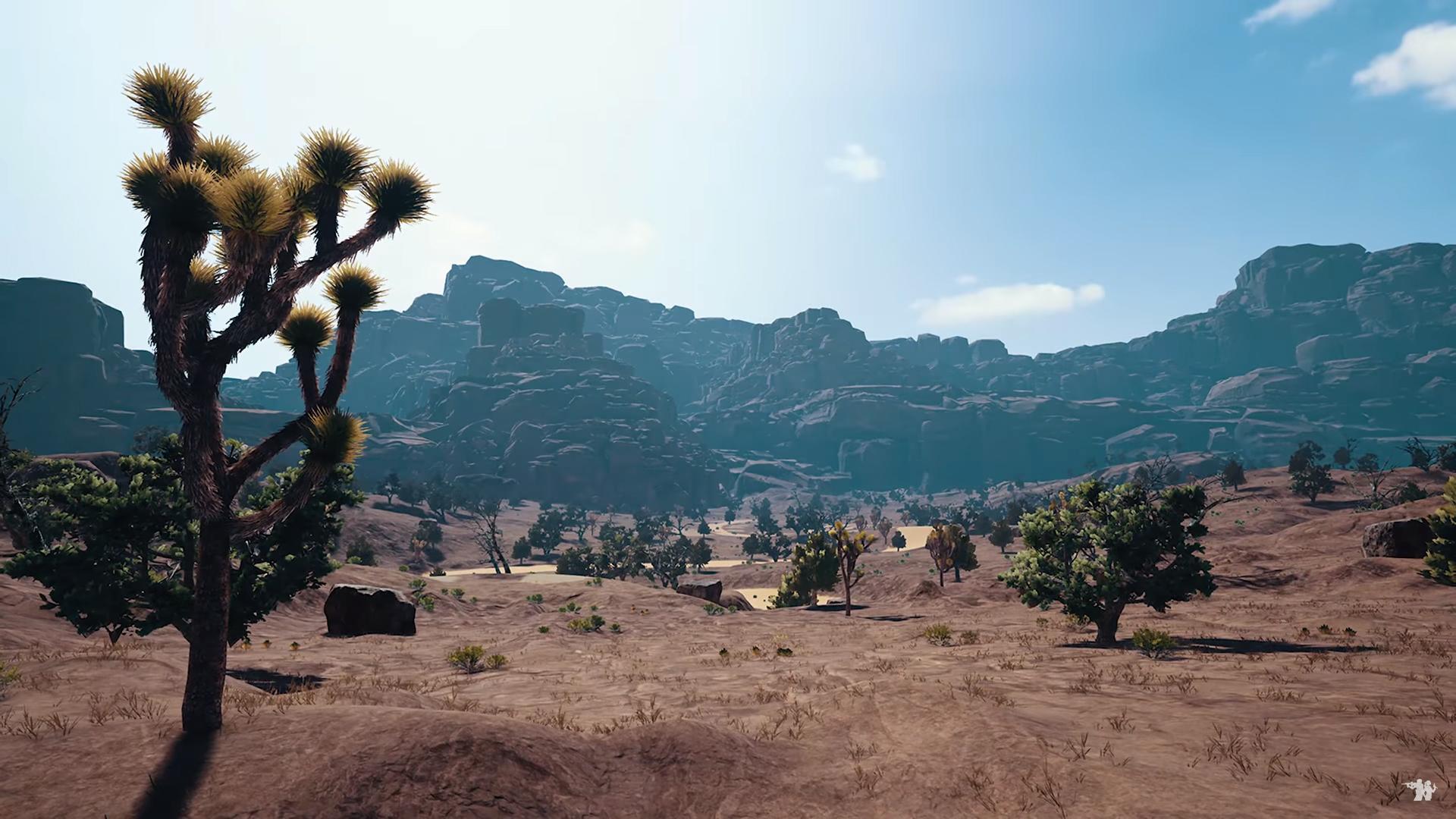 Itt is látszik a pálya széle a nagy homokkő hegyekkel.