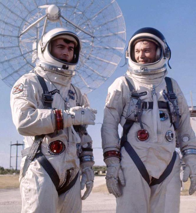 Remembering Gemini 10 - Astronauts John Young and Mike Collins are launched this day in 1966..jpg