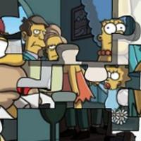 Kirakós játék a Simpsons család szereplőivel