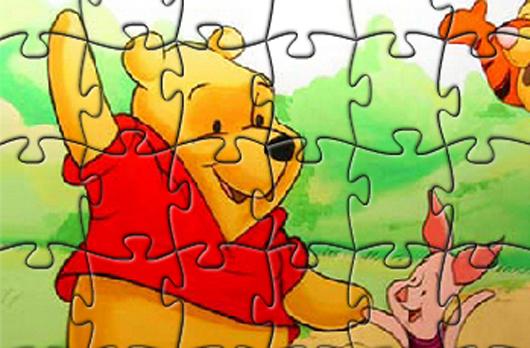 Winnie the Pooh Puzzle Játék