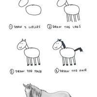 Hogy rajzolunk lovat?