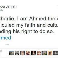 #JeSuisAhmed