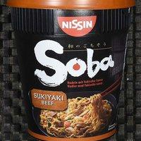 Nissin - Soba Yakisoba Sukiyaki Beef - magyarországról