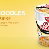 Cup noodles csirkehúsos (Nissin) - a klasszikus