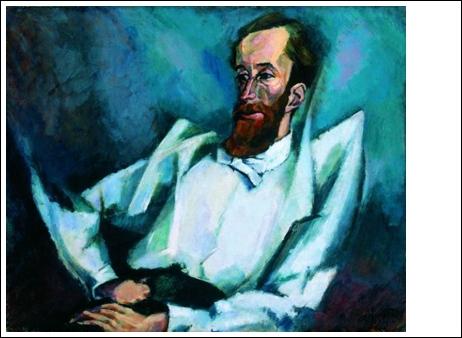 Tihanyi Lajos: Fülep Lajos portréja