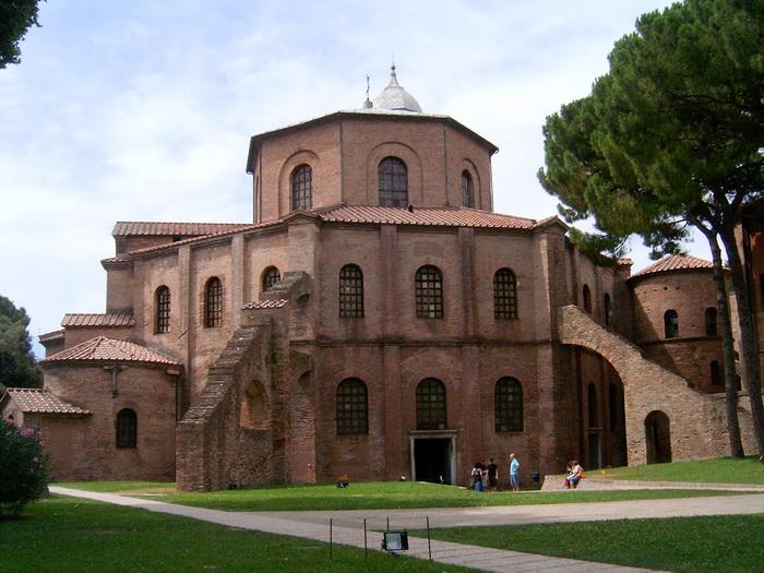 A San Vitale Székesegyház (Basilica di San Vitale)