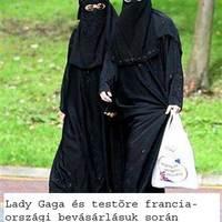 Gaga és a burka-törvény