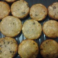 Almás muffin csokidarabokkal