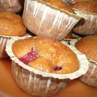 Muffin recept: kókuszos meggyes muffin