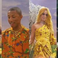 Calvin Harris szupersztárokkal, skában, színesben