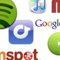 A legkeresettebb zenei szolgáltatások - a Google szerint