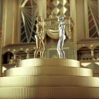 Színarany sci-fi Mystery Skulls, Nile Rodgers és Brandy közös dalának klipje
