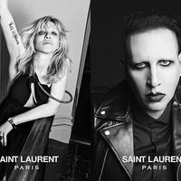 Marilyn Manson és Courtney Love is szerepel a Saint Laurent portrésorozatában