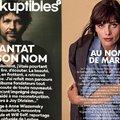 A gyilkos Bertrand Cantat szerepelt a vezető francia zenei lap címlapján