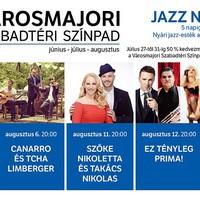5 nap, 5 koncert, 50% kedvezmény: JAZZ NEKED! – Nyári jazz-estek a Városmajorban