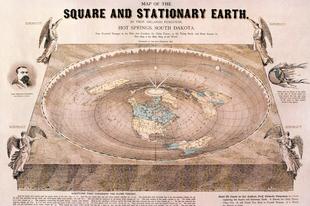 A lapos Föld legendája a 21. század elején