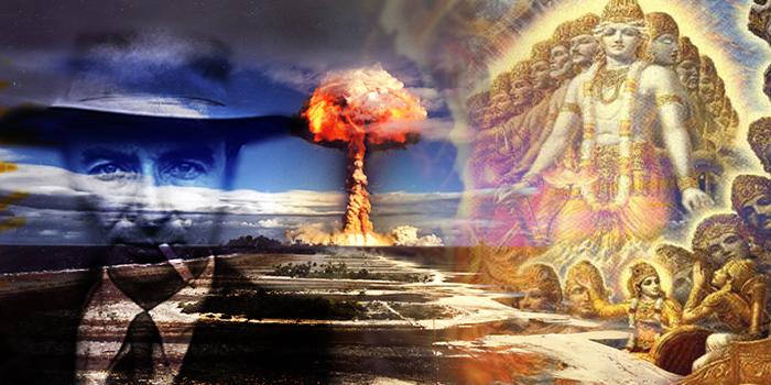 Oppenheimer atombomba vimána mahábhárata