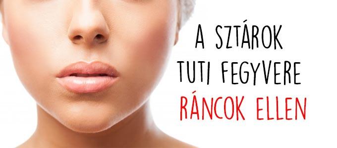 A sztárok tuti fegyvere ráncok ellen - Blog a modern szépségápolásról