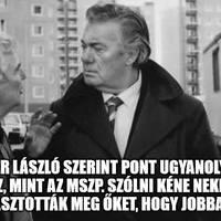 Kövér őszödi beszéde – a Fidesz és az MSZP együtt menjen a picsába