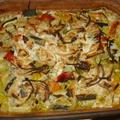 Zöldséges halfilé burgonya ágyon (4 adag)
