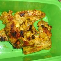 Aszalt paradicsomos-bazsalikomos grill csirkeszárny